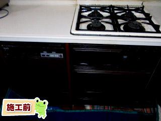 パナソニック製 食器洗い乾燥機 施工前