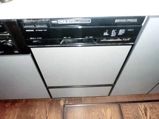 パナソニック ビルトイン食洗機 NP45MD5S 施工前