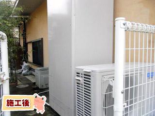 三菱 エコキュート SRT-HP37WUX6 施工後