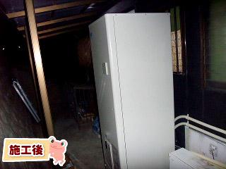 ダイキン エコキュート EQN46MFV 施工後