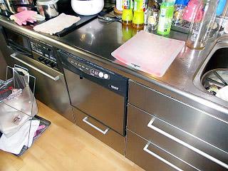 リンナイ 食洗機 RKW-C401-ASA-SV 施工前