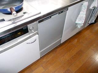 パナソニック 食洗機 NP-45MD5S 施工後
