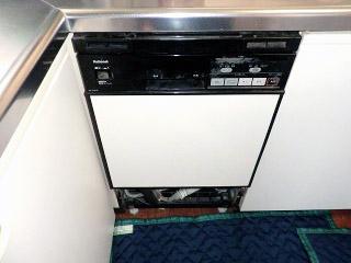 パナソニック ビルトイン食洗機 NP-45MC5T 施工前