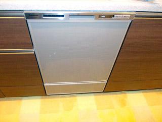 パナソニック ビルトイン食洗機 NP-45MD5S 施工後