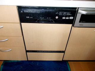 パナソニック 食洗機 NP-45MD5S 施工前