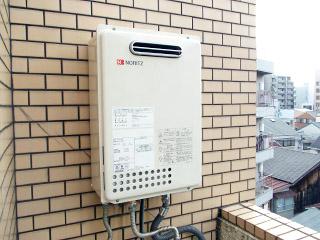 ノーリツ ガス給湯器 GQ-1637WS 施工後