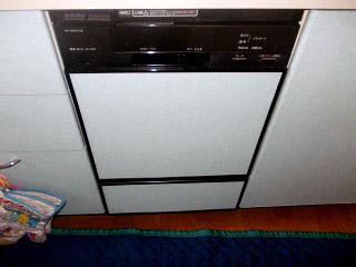 三菱 ビルトイン食洗機 EW-DP45S 施工前