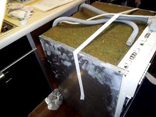 パナソニック 食洗機 NP-P60V1PKPK 施工前