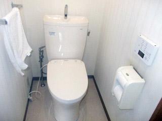 TOTO  トイレ CS220BP・SH221BAS・TCF4711 施工後