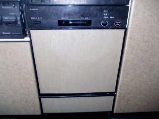 パナソニック 食洗機 NP-45MC5T 施工前