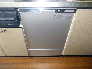 パナソニック 食洗機 NP-45MC5T 施工後