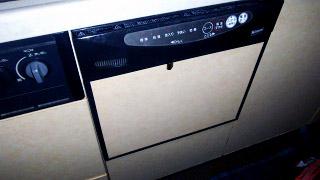 リンナイ 食洗機 RKW-403C 施工前