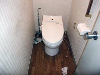 パナソニック トイレ XCH1203WS 施工前