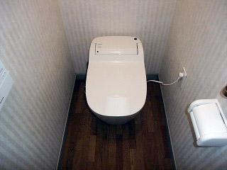 パナソニック トイレ XCH1203WS 施工後