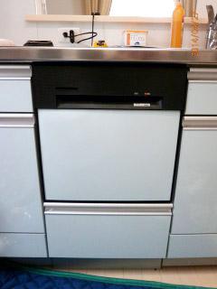 ハーマン 食洗機 FB4515PBA 施工後