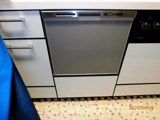 パナソニック 食洗機 NP-45MS6S 施工前