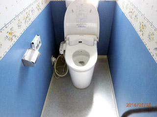 パナソニック トイレ XCH300WSTK 施工後