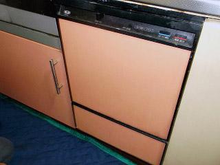 リンナイ 食洗機 RKW-453C 施工前