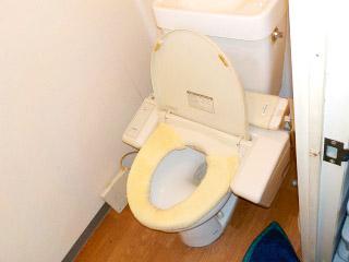 パナソニック トイレ XCH1302RWS 施工前