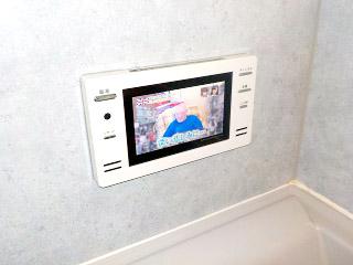 ツインバード 浴室テレビ VB-J09W 施工後