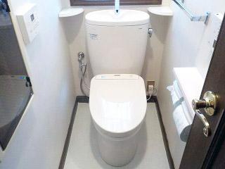 TOTO トイレ CS330BM–SH331BA-SC1 施工後