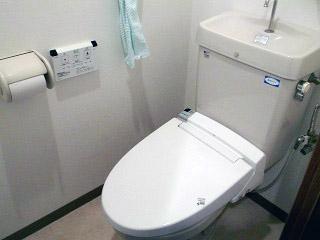 イナックス トイレ TSET-A0-WHI-1-R 施工前