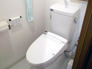 イナックス トイレ TSET-A0-WHI-1-R 施工後
