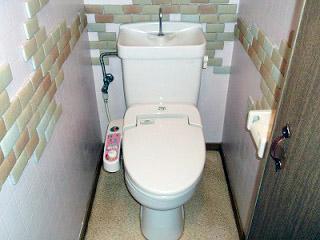 イナックス トイレ GBC-Z10HU–GDT-Z180HU-BN8 施工前