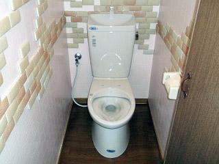 イナックス トイレ GBC-Z10HU–GDT-Z180HU-BN8 施工後