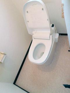 パナソニック トイレ XCH1101RWS 施工後