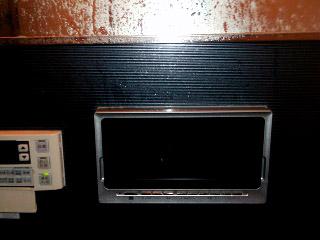 ツインバード 浴室テレビ VB-BS163-B 施工前