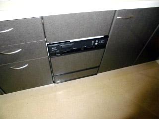 リンナイ 食洗機 RKWA-F401A 施工後