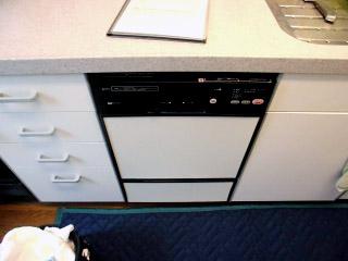 ハーマン 食洗機 FB4504PF 施工前