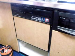 パナソニック 食洗機 NP-45RS6K 施工前