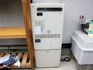 ノーリツ ガス給湯器 GT-C2452AWX-2-BL-13A-20 施工前