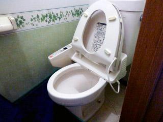 TOTO トイレ TSET-GG-WHI-1-R 施工前