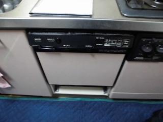 パナソニック 食洗機 NP-45MS7S 施工前