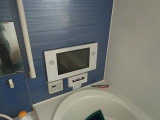 リンナイ 浴室テレビ DS-1201HV-A 施工前