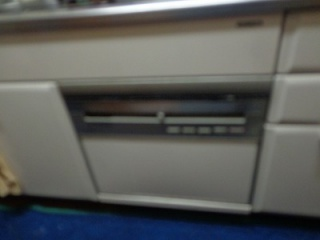 パナソニック 食洗機 NP-P60V1PSPS 施工前