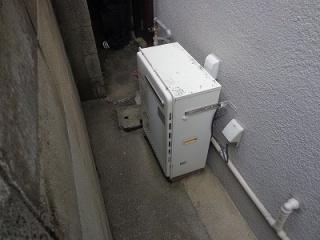 ノーリツ ガス給湯器 GT-C2052SARX-2-BL-13A-20A 施工前
