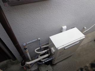 ノーリツ ガス給湯器 GT-C2052SARX-2-BL-13A-20A 施工後