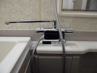 TOTO 浴室水栓 TMGG46EW 施工後