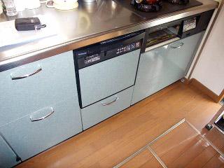 パナソニック 食洗機 NP-P45MD2S-S 施工前