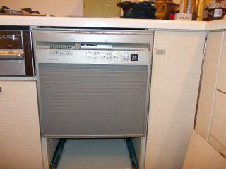 三菱 ビルトイン食洗機  施工前