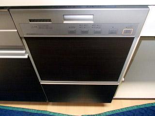 三菱電機 食洗機 EW-DP45S 施工後