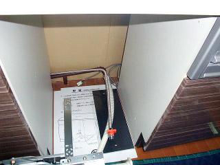 ハーマン 食洗機 FB4504PMSF 施工前
