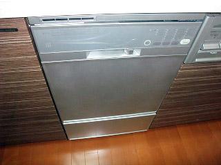 ハーマン 食洗機 FB4504PMSF 施工後