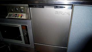 パナソニック 食洗機 NP-45MC6T 施工後