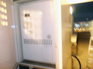 ノーリツ 給湯器 GTH-2444AWX6H 施工前