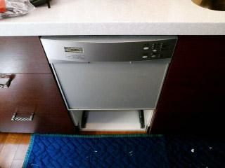 三菱 食洗機 EW-45H1S 施工前
